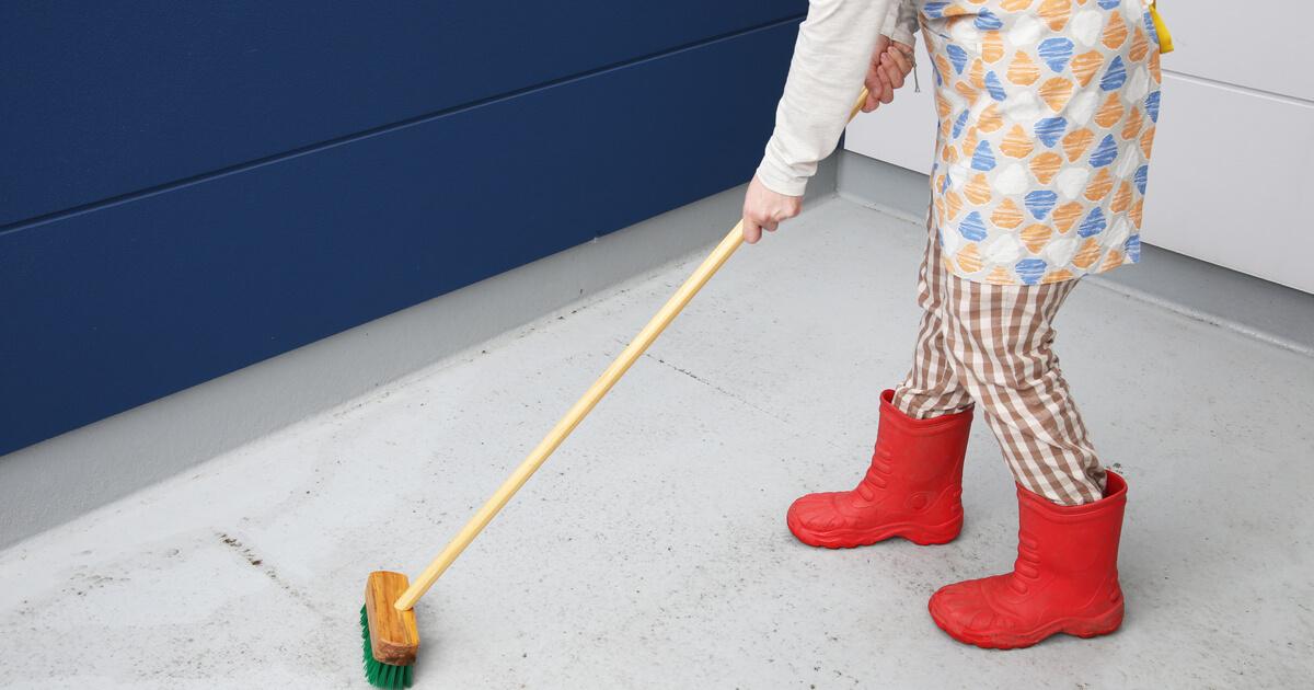 ベランダ 掃除 手順