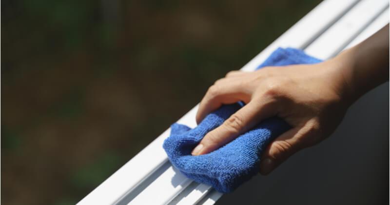窓 サッシ 掃除