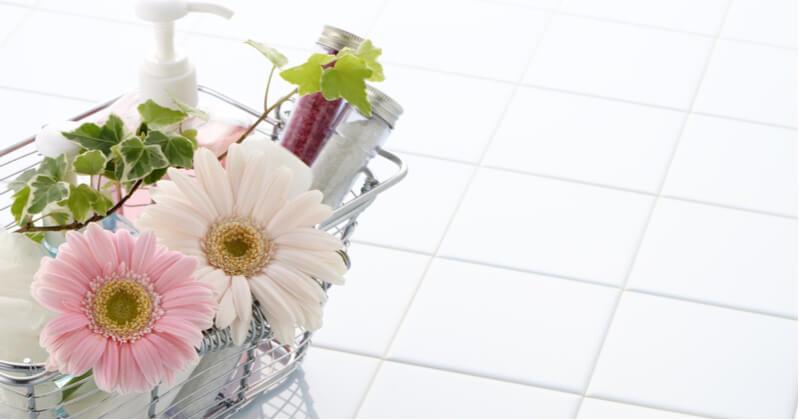 お風呂の床掃除