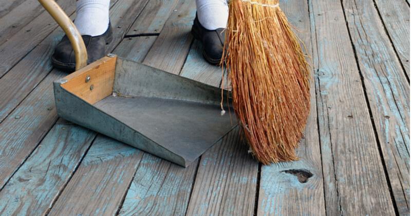 ベランダ 床 掃除