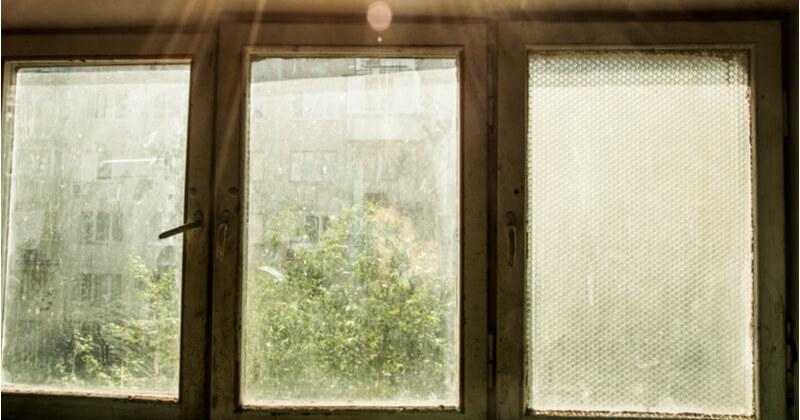 大掃除 窓 汚れ