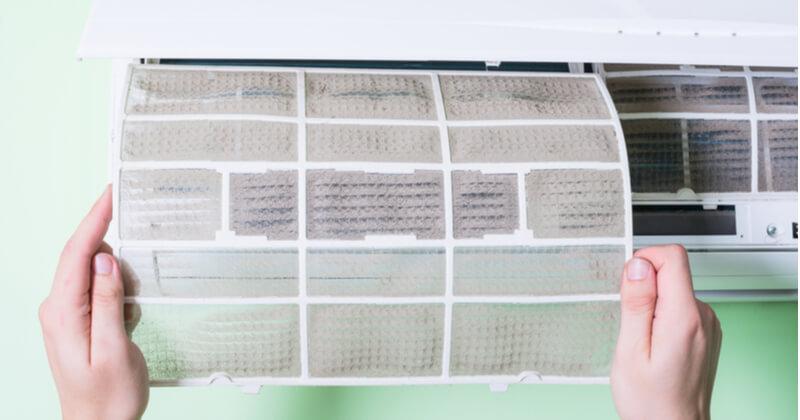 エアコン フィルター 掃除