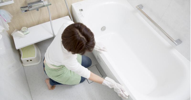 風呂の掃除に関するお悩み